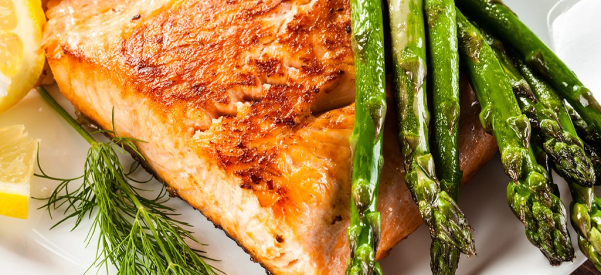 Paprika Salmon And Asparagus