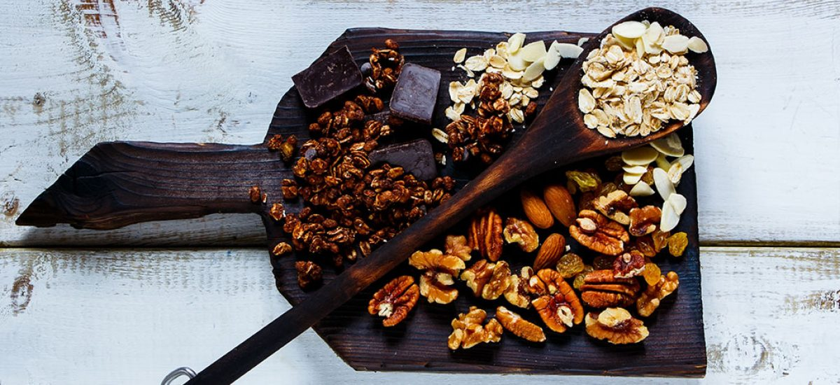 Chocolate Granola Protein Clusters